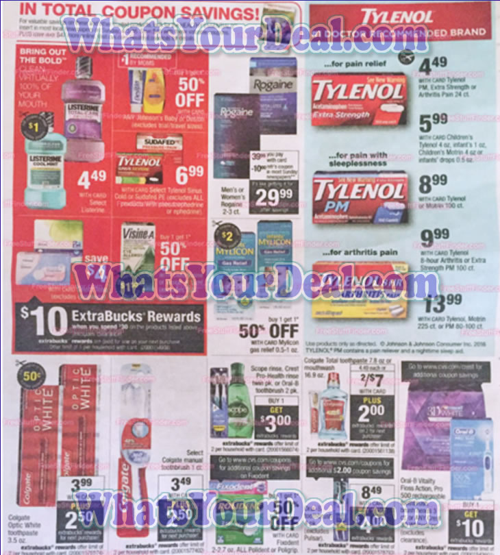 CVS Ad Scans April 3, 2016 - April 9, 2016